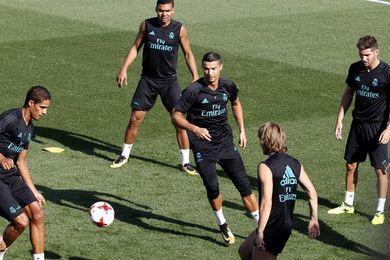 El Real Madrid prepara el Trofeo Santiago Bernabéu sin Varane ni Kovacic