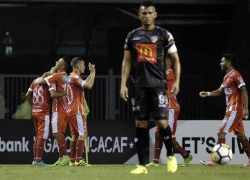 1-0. El Santos costarricense clasifica a las semifinales de la Liga Concacaf