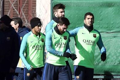 El Barcelona, molesto con las fotos de Neymar, pero no observa mala intención