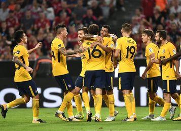 El Atlético, ante un pulso con el Chelsea... con permiso del Roma