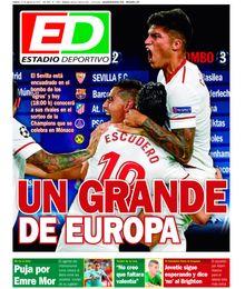 La portada de hoy de ESTADIO Deportivo
