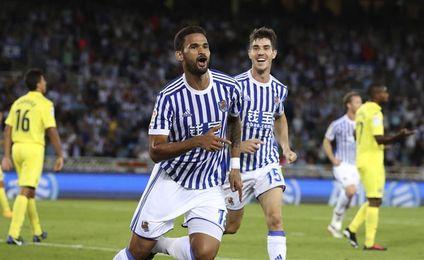 3-0. La Real se lanza a la zona alta a costa de un pobre Villarreal