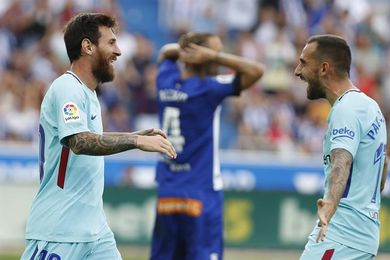 0-2. Messi rearma al Barça