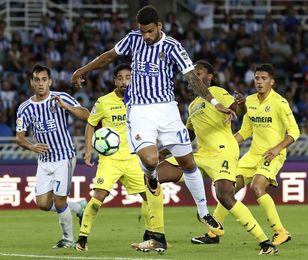 Juanmi Jiménez y Willian José reeditan su duelo goleador