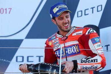 Cuarta victoria y liderato del mundial para Andrea Dovizioso
