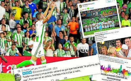 El marroquí dedicó su gol al Celta a las víctimas de los atentados.