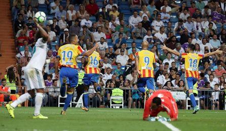 2-2. El Valencia frena al Real Madrid