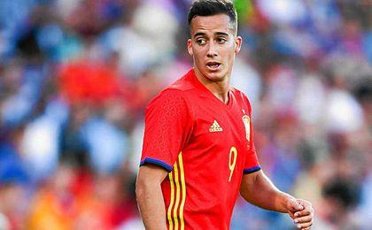 Lucas Vázquez sustituye a Vitolo con España