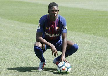 Dembélé se entrena con el Barça; Marlon, en Niza para cerrar la cesión