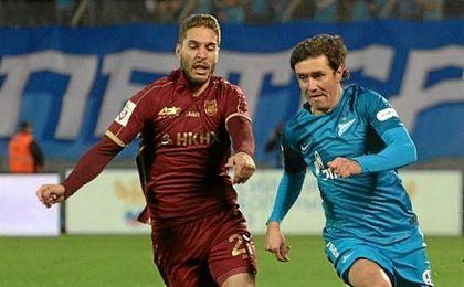 El delantero, que bajó su nivel durante su temporada en Rusia, vería con buenos ojos regresar a LaLiga.