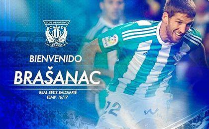 Oficial: Brasanac, cedido al Leganés