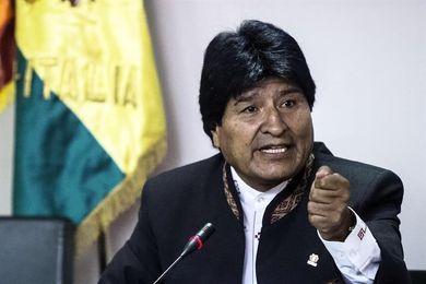Evo Morales critica el fallo del TAS contra Bolivia