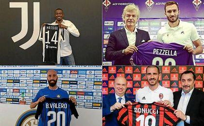 El Milan manda en el mercado italiano