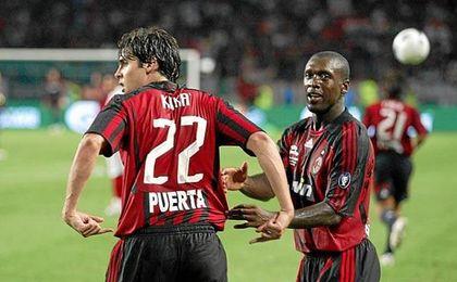 El Milan también recuerda a Antonio Puerta