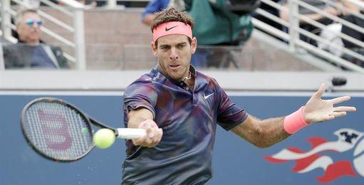 Federer gana con autoridad a López; Nadal, sufre; Del Potro se crece