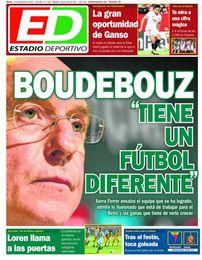 La portada de ESTADIO Deportivo del martes