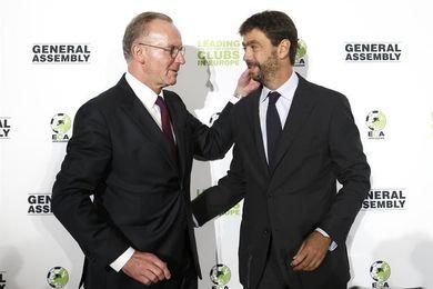 Andrea Agnelli, elegido nuevo presidente de la Asociación de Clubes Europeos