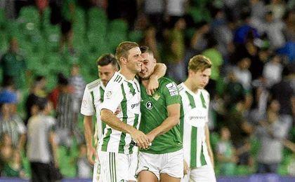 Joaquín Sanchez fue titular en la victoria verdiblanca ante el Celta.