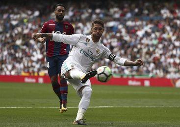 Sergio Ramos, reconocido como el jugador más saludable del Real Madrid