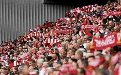 Anfield se pone rudo en Champions