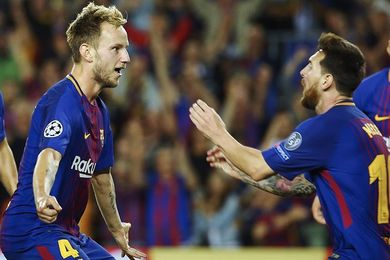 Neymar, Mbappé y Cavani hacen estragos en Escocia;Messi responde en Barcelona