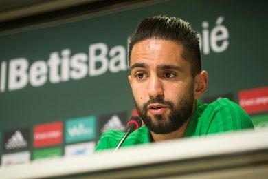 Boudebouz entrena con el grupo y Setién insiste en los aspectos tácticos