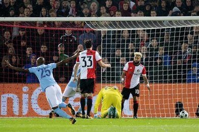 0-4. El City desborda al Feyenoord