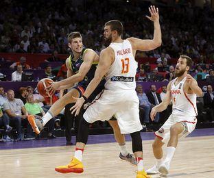 72-92. España perdió ante Eslovenia y luchará por la medalla de bronce