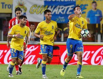 Sesión táctica a puerta cerrada de la UD Las Palmas para recibir al Athletic