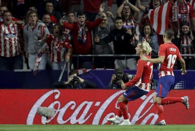 Espectacular Metropolitano, con el Calderón al fondo