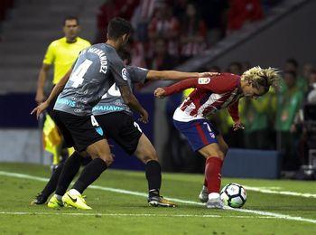 Griezmann marca el primer gol de la historia del Wanda Metropolitano