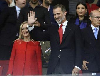El rey Felipe VI preside el estreno del Wanda Metropolitano