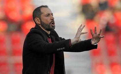 Machín se mostró decepcionado con el 0-1.