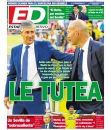 La portada de ESTADIO de este martes