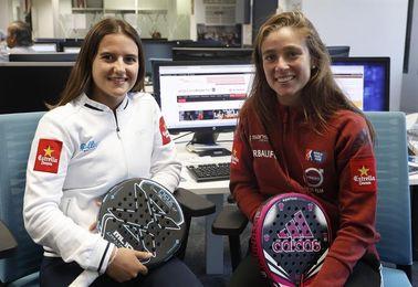 Martita Ortega y Ari Sánchez esperan jugar torneos fuera de España