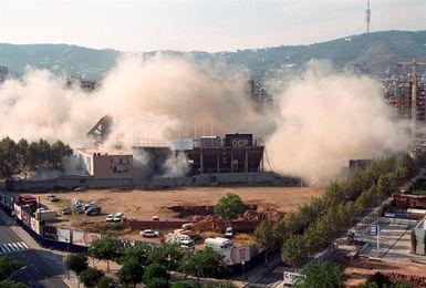 Hoy se cumplen 20 años de la demolición del estadio de Sarrià