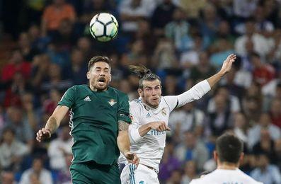 Real Madrid y Betis, al descanso sin goles