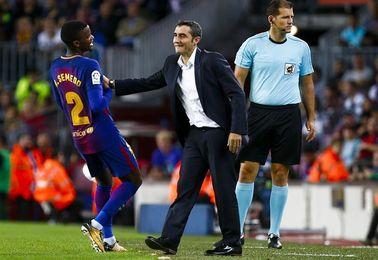 Valverde acerca a Leo al área y Messi bate sus récords
