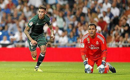 """Sanabria: """"Marcar en el Bernabéu significa todo"""""""