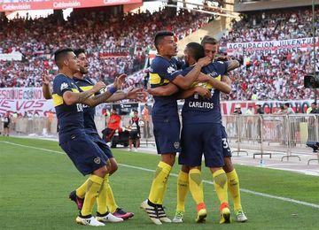 Los líderes Boca Juniors y River Plate se miden con Vélez y Argentinos