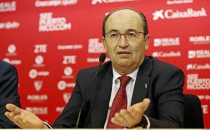 """Castro cree que la afición del Sevilla """"dio ejemplo de cómo animar""""."""