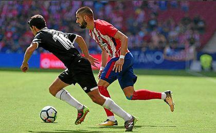 Yannick Carrasco rompió la lata del encuentro con el 1-0.