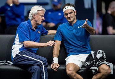Federer gana dos nuevos puntos para Europa en la Copa Laver y lidera con 5-1