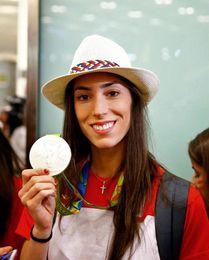 La gimnasta Sandra Aguilar será nombrada hija predilecta de Pinto