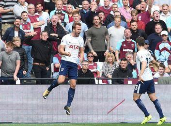 Harry Kane guía al Tottenham, que sufre en el tramo final