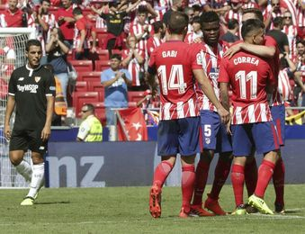 El Atlético, diversidad, pegada y firmeza