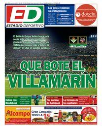 La portada hoy lunes 25 de septiembre de ESTADIO Deportivo