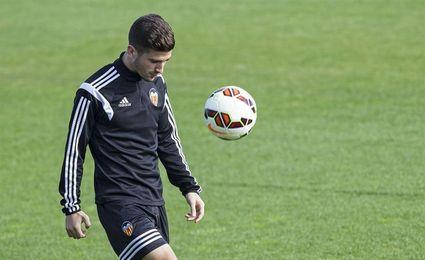 Rodrigo, Gayà y Guedes retoman los entrenamientos con el resto de compañeros
