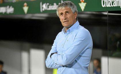 """Setién: """"Me gusta mucho la Copa y el Cádiz es un gran equipo"""""""