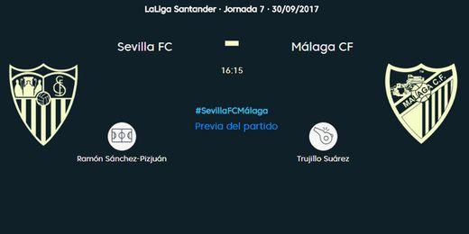 Sevilla FC-Málaga CF, en directo